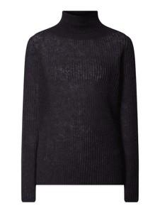 Czarny sweter Drykorn w stylu casual z wełny