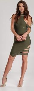 Zielona sukienka Renee dopasowana mini