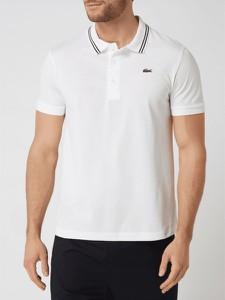 T-shirt Lacoste w stylu casual z krótkim rękawem z bawełny