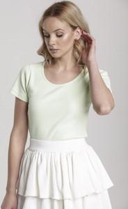 T-shirt Renee z okrągłym dekoltem z krótkim rękawem