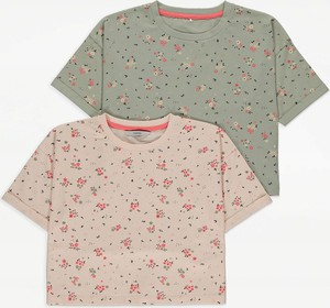 Bluzka dziecięca George dla dziewczynek z bawełny