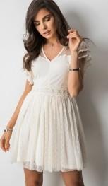 b428be3e34 białe sukienki z koronką - stylowo i modnie z Allani