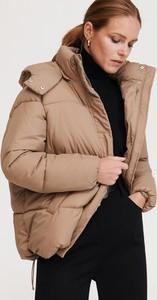 Brązowa kurtka Reserved krótka