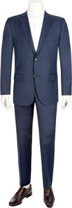 Niebieski garnitur Daniel Hechter z wełny