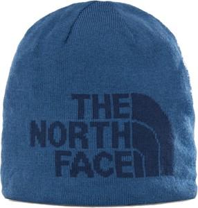 Czapka The North Face z wełny w młodzieżowym stylu
