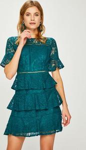 Niebieska sukienka Answear