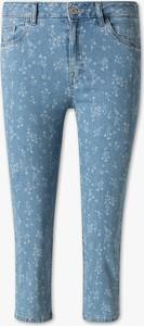 Niebieskie spodnie The Denim w młodzieżowym stylu