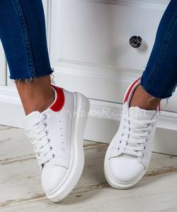 Buty sportowe madamrock.pl w sportowym stylu na platformie sznurowane
