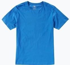 Niebieski t-shirt Nils Sundström z krótkim rękawem