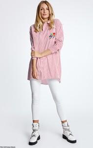 Koszula Naoko w młodzieżowym stylu z bawełny