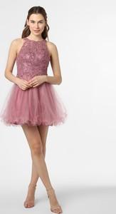 Sukienka Laona rozkloszowana bez rękawów z tiulu
