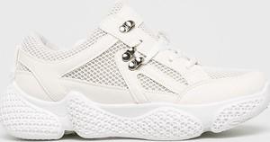 Sneakersy Public Desire na platformie sznurowane