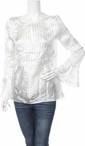 Srebrna bluzka Massimo Dutti z długim rękawem