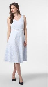 Sukienka comma, midi z dekoltem w kształcie litery v