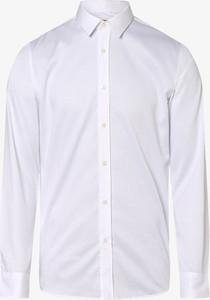 Koszula Hugo Boss z długim rękawem z bawełny z klasycznym kołnierzykiem