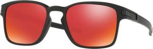Czerwone okulary damskie Oakley