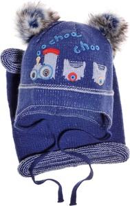 Niebieska czapka Czapoba