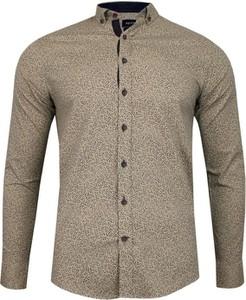 Koszula Rigon z długim rękawem z bawełny
