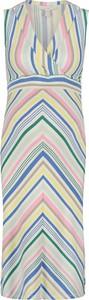 Esprit Sukienka ciążowa w kolorze kremowym ze wzorem