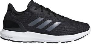 Czarne buty sportowe Adidas w sportowym stylu