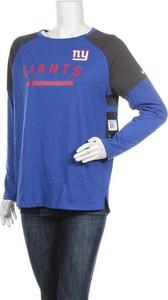 Bluzka Nike w sportowym stylu z okrągłym dekoltem