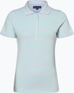 T-shirt Franco Callegari z bawełny z krótkim rękawem w stylu casual