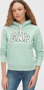 Zielona bluza Gap w stylu casual