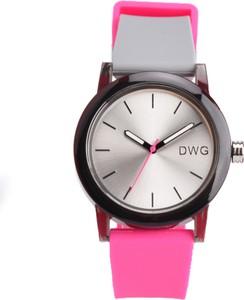 Zegarek damski DWG na różowym pasku 01