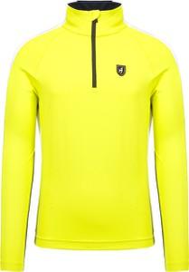 Żółta bluza Toni Sailer w stylu casual z dzianiny