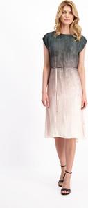 Sukienka Lavard z krótkim rękawem