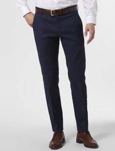 Granatowe spodnie Finshley & Harding