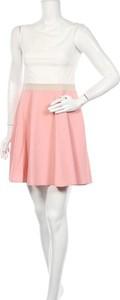 Sukienka Katrus z okrągłym dekoltem mini bez rękawów