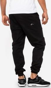 Czarne spodnie Moro Sport z bawełny