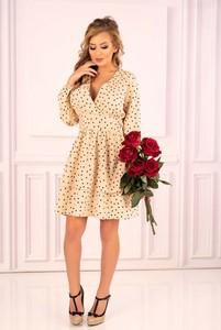 Sukienka MERRIBEL mini z długim rękawem w stylu casual