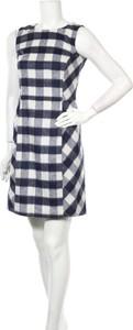 Sukienka Brooks Brothers bez rękawów z okrągłym dekoltem