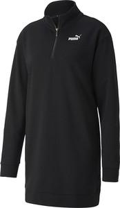 Czarna sukienka Puma w stylu casual mini z dresówki