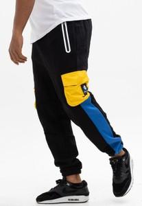 Czarne spodnie sportowe Cayler & Sons z bawełny