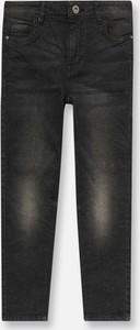 Czarne jeansy dziecięce Sinsay