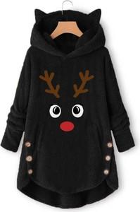 Czarny płaszcz Kendallme w stylu casual
