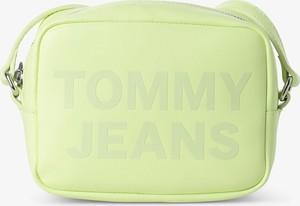 Żółta torebka Tommy Jeans średnia