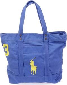 Niebieska torebka POLO RALPH LAUREN