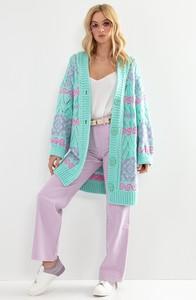 Sweter Fobya z żakardu w stylu casual