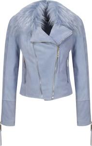 Niebieska kurtka Elisabetta Franchi w stylu casual