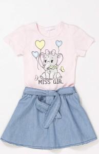 Różowa sukienka dziewczęca born2be