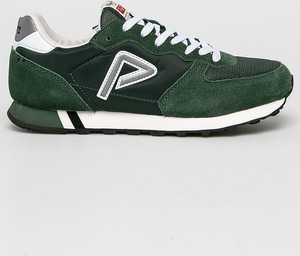 Buty sportowe Pepe Jeans sznurowane ze skóry