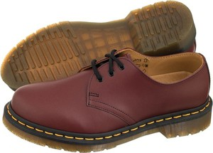Półbuty dr. martens 1461 cherry red smooth 11838600 (dr2-c)