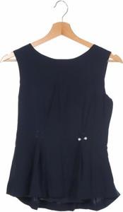Niebieska bluzka Mint&berry z okrągłym dekoltem