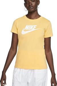 Bluzka Nike w sportowym stylu z bawełny z krótkim rękawem