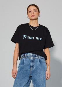 T-shirt LOCAL HEROES z krótkim rękawem z bawełny w młodzieżowym stylu