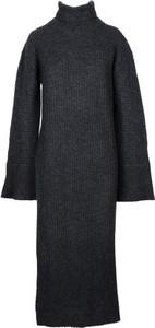 Sukienka Lamberto Losani midi w stylu casual z kaszmiru
